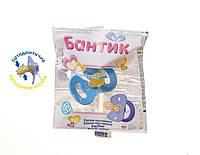 СОСКА-ПУСТИШКА 2-Б БАНТИК  в пакете ортодонтичная
