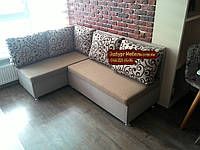 Кухонный диван «Прометей» с большими удобными подушками