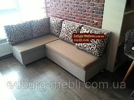 Кухонний диван «Прометей» з великими зручними подушками