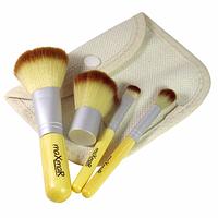 Набор кистей для макияжа в тканевом футляре