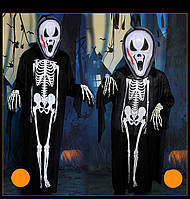 """Костюм скелета с маской """"Крик"""" на хэллоуин  - оригинальный аксессуар для вашего стиля!"""