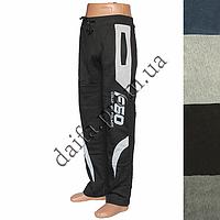 Мужские трикотажные брюки с начесом 6017m оптом со склада в Одессе