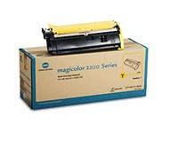 Тонер-картридж Yellow (желтый) для magicolor 2200, ресурс 6000 страниц.