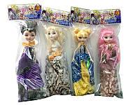 Кукла Ever After High E800K-D 240шт2 4 вида, в бальном платье, шарнир., в пакете
