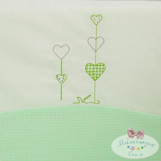 Вышивка «Тутти», зеленый