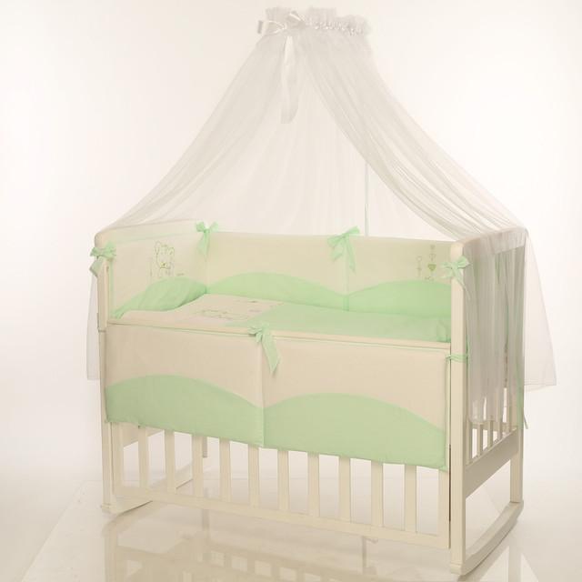 Детская постель Tutti зеленый