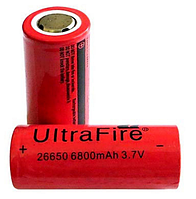 Аккумулятор UltraFire 26650 6800 мА/ч MS