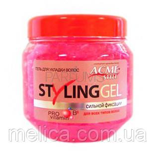 Гель для укладки волос ACME Style STYLING GEL сильная фиксация - 250 мл. - АВС Маркет в Мелитополе