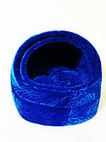 Домик синий для котов и собак 45х42х40 см