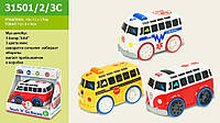 Муз.автобус 3150123C 140703345C 48шт2 батар., муз, реалзвук от прикоснов, в кор191117