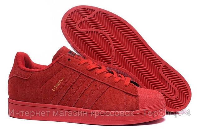 Кроссовки мужские Adidas London Red