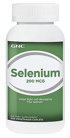 GNC Selenium 200 mcg 100 veg caplets