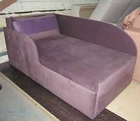 Детская кровать с бортиком и бочками, фото 1