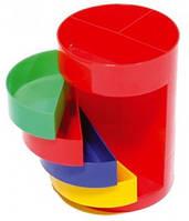 Канцелярский стакан настольный пластик Olli OL-168