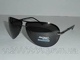 Мужские солнцезащитные очки Matrix 6617, строгие, модный аксессуар, очки, мужские, качество ,прямоугольные
