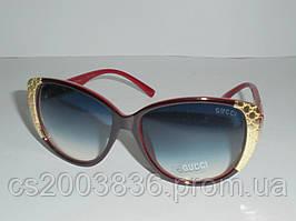 """Солнцезащитные очки """"Oversized"""" GUCCI 6690, очки стильные, модный аксессуар, очки, женские очки, качество"""