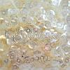 Пайетки жемчужные молочные 5 мм шестигранник
