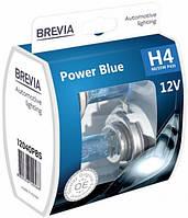 Лампа автомоб. Н4 12V 55/60W Power Blue Brevia (2шт/комп)