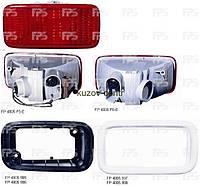 Фонарь задний левый без рамок (окуляров)на Mitsubishi Lancer (Мицубиси Лансер) 9 -07
