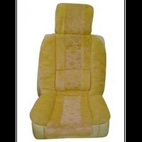 Накидки на сиденья AG-26131 перед.+задн. беж Vitol (5шт/комп)