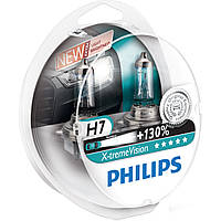 Лампа автомоб. Н7 12V 55W +130% галоген X-treme Vision PHILIPS (2шт)