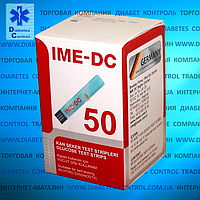 Тест-полоски для глюкометра IME-DC / ИМЕ-ДС 50 шт.