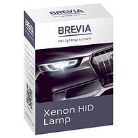 Лампа автомоб. Н4 6000K Brevia (1шт)