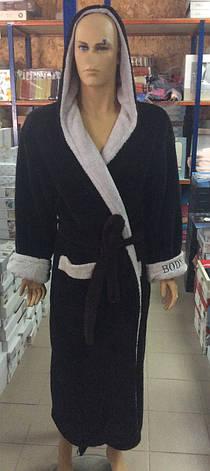 Мужские махровые халаты SPORT, фото 2