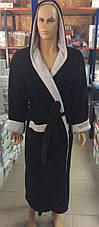 Мужские махровые халаты SPORT, фото 3