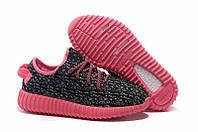 Кроссовки женские  Adidas Yeezy Boost 350 Low Pink Grey , фото 1