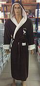 Чоловічі махрові халати CAMEL коричневий