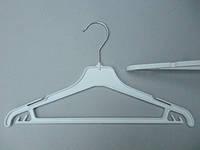 Плечики  вешалки  тремпеля Marc-Th WPN-35 белого цвета, длина 35 см