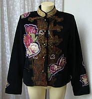 Жакет куртка шикарная Desigual р.52 7091, фото 1