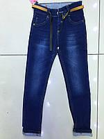 Джинсы,для девочки синего цвета 6-10 лет