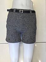 Трикотажные шорты  для девочек 98-140