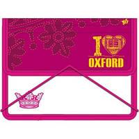 """Папка для зошитів пласт. на гумці В5 """"Oxford"""" 491051"""