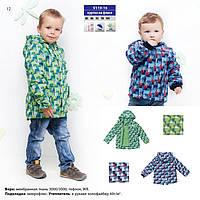 Демисезонная куртка для мальчика на флисе сити Baby Line V110-16