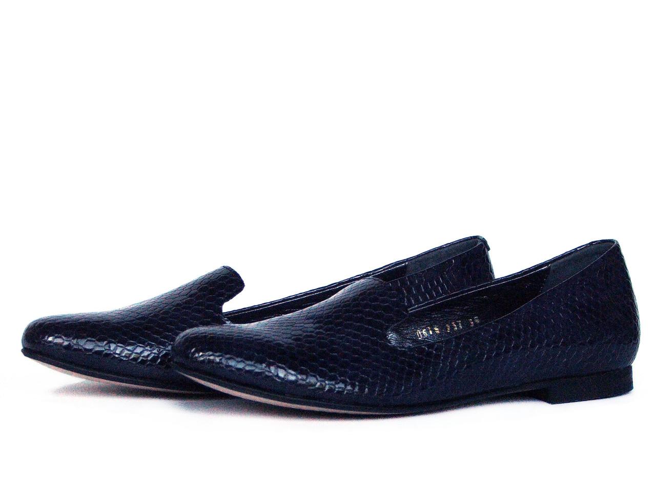 8185352224ce Лаковые кожаные синие лоферы, цена 1 374 грн., купить в Запорожье ...