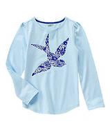 Реглан голубой на девочку 7-8 лет Ласточка Crazy8 (США)