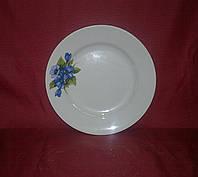 "Тарелка керамика 20 см ""Фиалка1"""