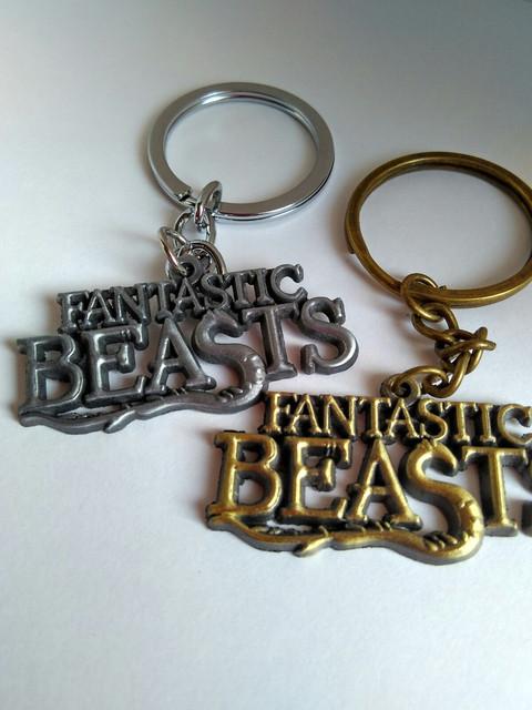 Брелки Фантастические звери и места их обитания Fantastic Beasts and Where to Find Them