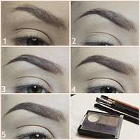 Набор BLONDE для бровей NYX Eyebrow Cake Powder