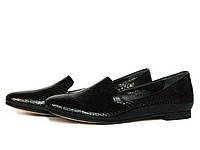 Туфли лоферы женские
