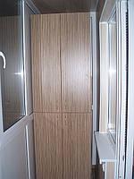 Шкаф на балкон 4-х дверный
