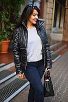 Стильная женская димесезонная куртка баттал