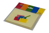 Блок клейкий 3102 желтый 76x101 мм