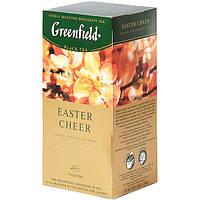 Чай Гринфилд Easter Cheer черный с вербой, ароматом цитрусовых и карамели 25 пакетов по 1.5г