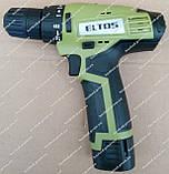 Шуруповерт аккумуляторный ELTOS ДА-12, фото 5