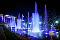 Программно-управляемый (свето-динамический) фонтан