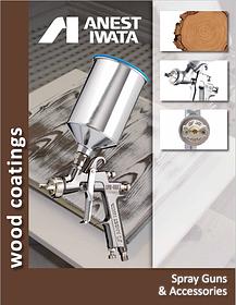 Выбор краскопультов Anest Iwata для покраски и лакировки деревянных поверхностей.